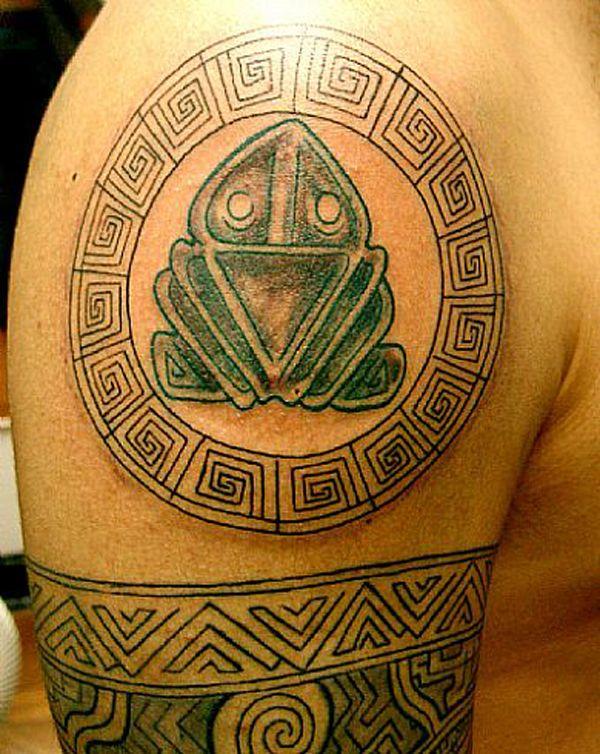 tatuagem muiraquitã
