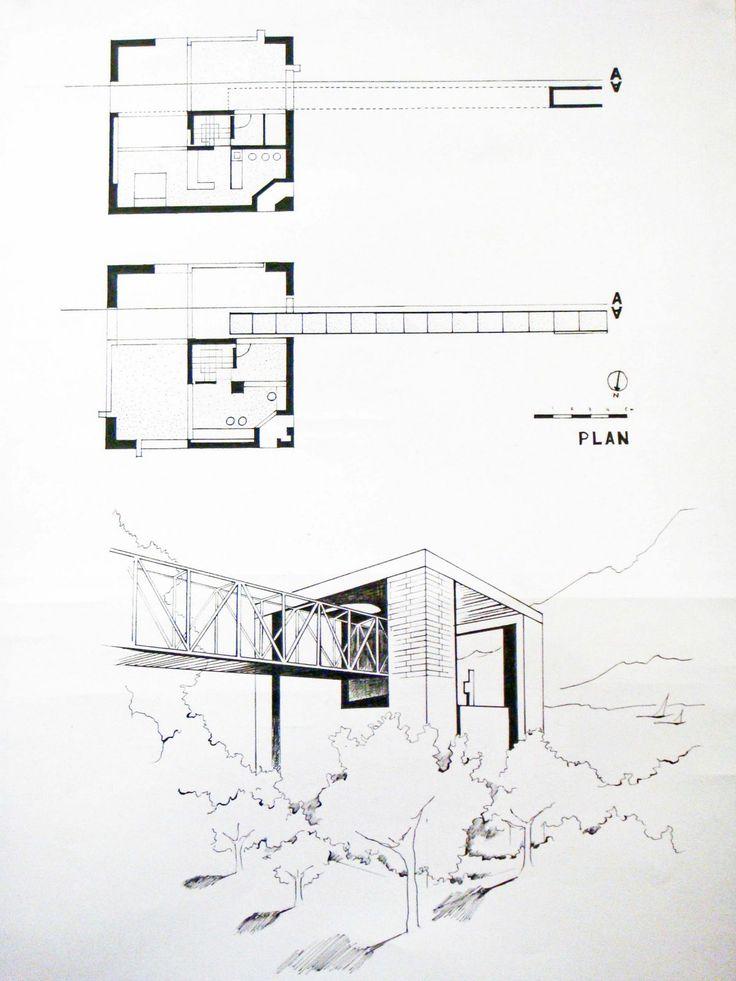 [Final+-+Botta+House+1.jpg] Scale 1/100