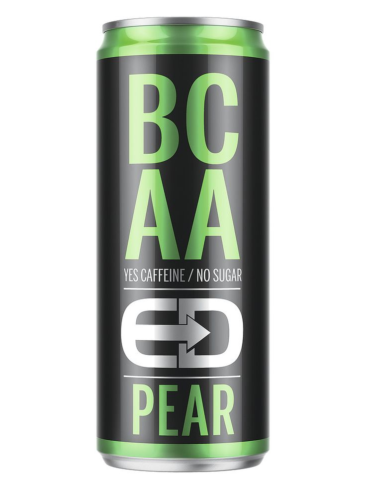 BCAA-juomien tuoteryhmä on nopeassa kasvussa niin Suomessa kuin maailmallakin. BCAA-juomat sisältävät haaraketjuisia aminohappoja ja vitamiineja ja antavat aktiiviurheilijan lihaksille energiaa ja rakennusaineita. Lisäksi juomat piristävät ja energisoivat.  ED BCAA Pear on haraketjuisia aminohappoja ja vitamiineja (B6 ja B12) sisältävä kofeiini- ja tauriinipitoinen hiilihapotettu juoma.