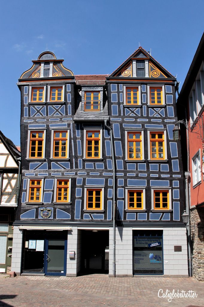 """""""Das Schiefe Haus"""" (the Crooked House) - Idstein, Germany - California Globetrotter"""