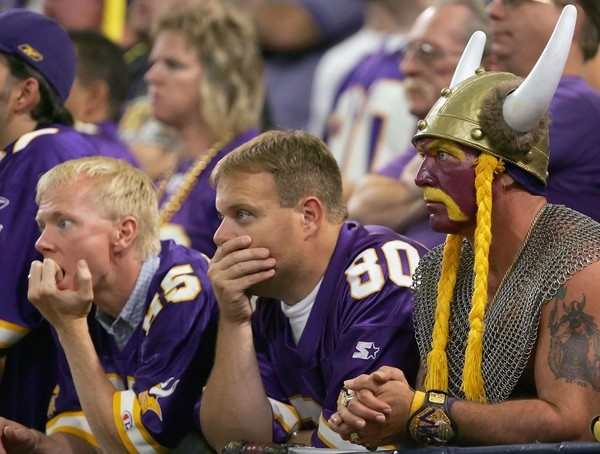 Media Blasts Minnesota Vikings For Doing Little To Upgrade Their Fans | The Onion - America's Finest News Source