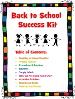 Back to school kits