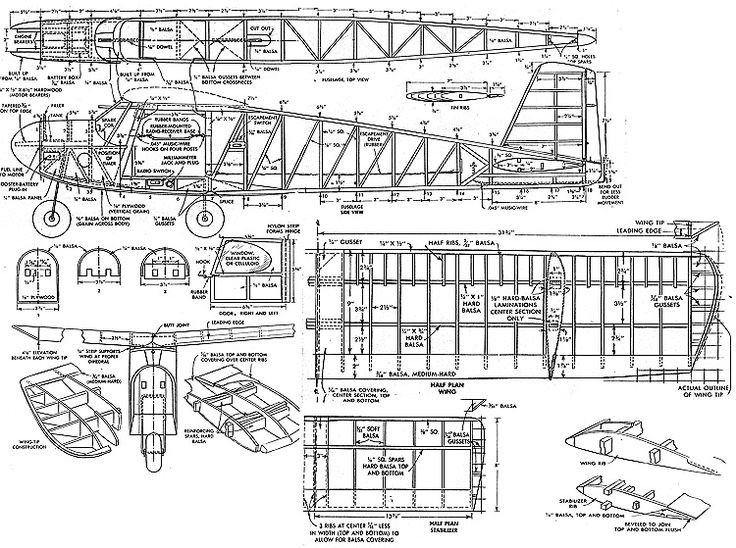 110 best Model Aircraft Plans images on Pinterest Cutaway, Plane - copy blueprint detail in short crossword clue
