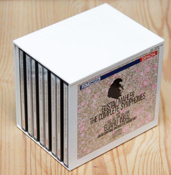 Mahler*, Radio-Sinfonie-Orchester Frankfurt, Eliahu Inbal - Symphonies 1-10 / Das Lied Von Der Erde (CD) at Discogs