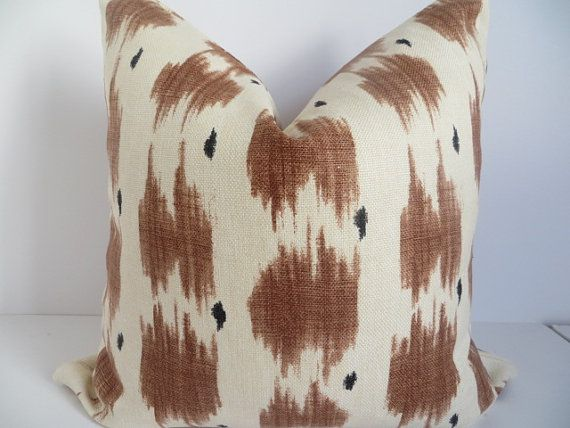 Pillow Covers,Decorative pillows,Brown Pillow Covers,Ivrory Pillow Covers, Home Decor, Home Accent, Natural Pillow Cover