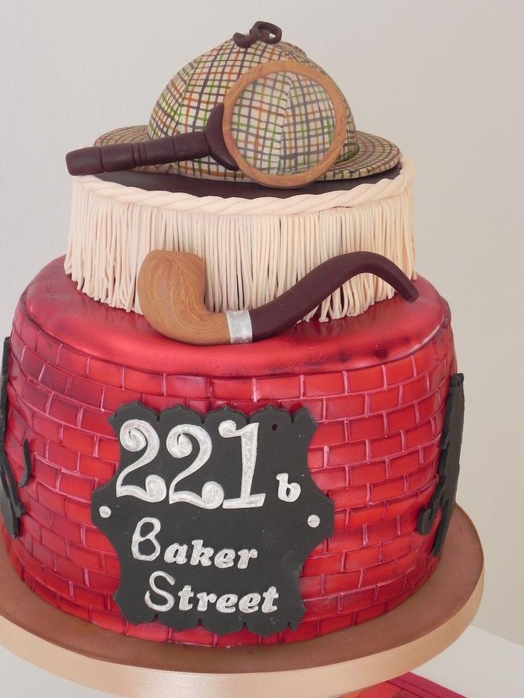 sherlock holmes cake torta sherlock holmes