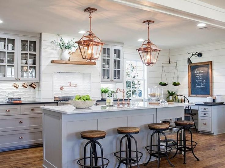 "6,913 Likes, 297 Comments - Fixer Upper (@fixerupperhgtv) on Instagram: ""What's your favorite part of this kitchen? #FixerUpper #HGTV"""