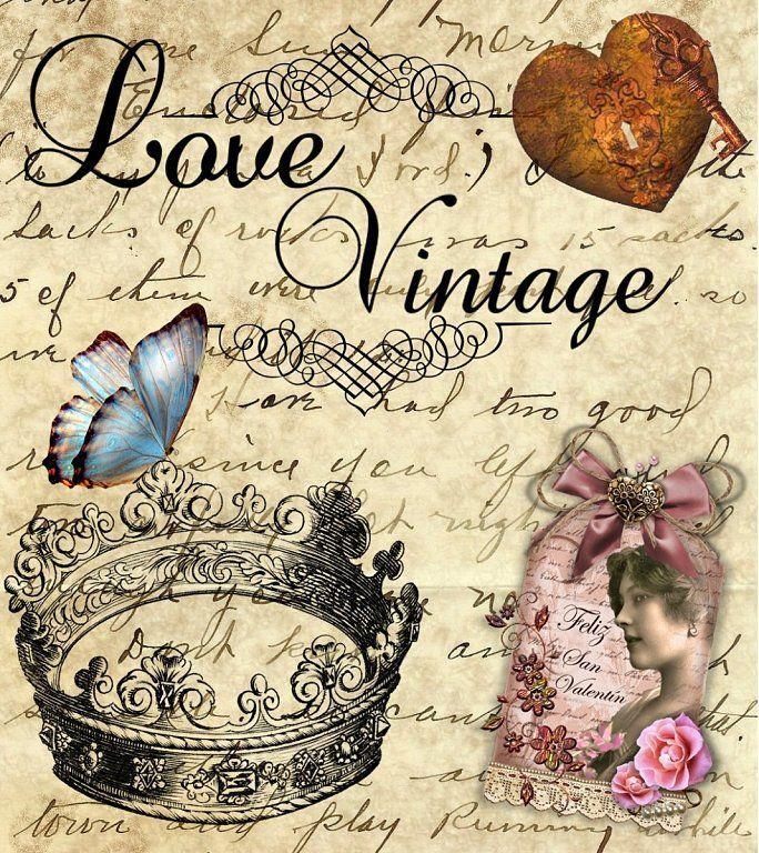 Todo transfer (pág. 353) | Aprender manualidades es facilisimo.com #vintagefrenchprintables