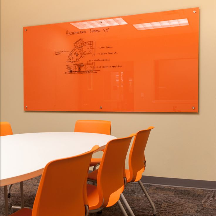 Glass WhiteBoards by Clarus | Buy a Glass Whiteboard Today BAM! match the chairs!!!