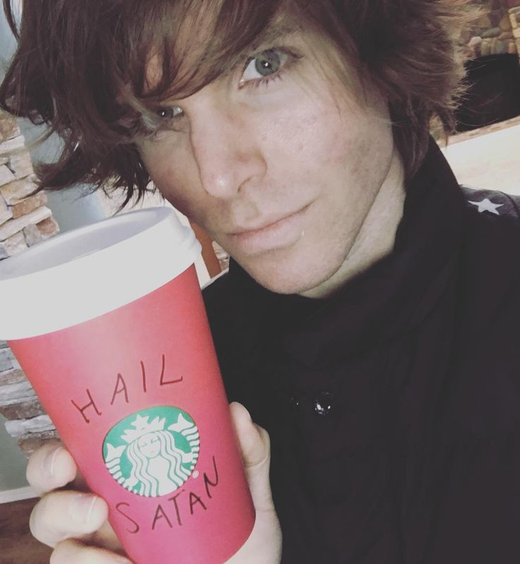 SEE!? HE OBVIOUSLY WORSHIPS SATAN!!! I HAVE PROOF NOW!!! TAKE THAT, ONISION FANS!!!