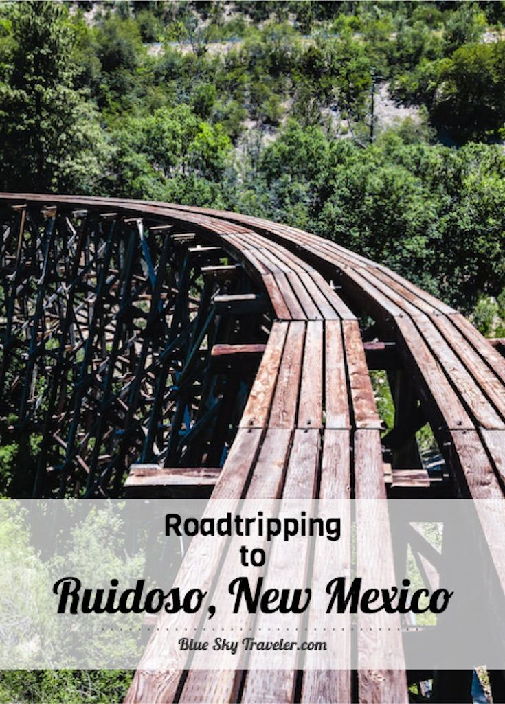 Ruidoso, New Mexico: a secret paradise, a fantasy land, high in the clouds, a place where scorching, triple digit heat is just a rumor, a world of snowy mountains and murmuring rivers, where family ski trips and casino weekends live side by side. More on http://www.blueskytraveler.com