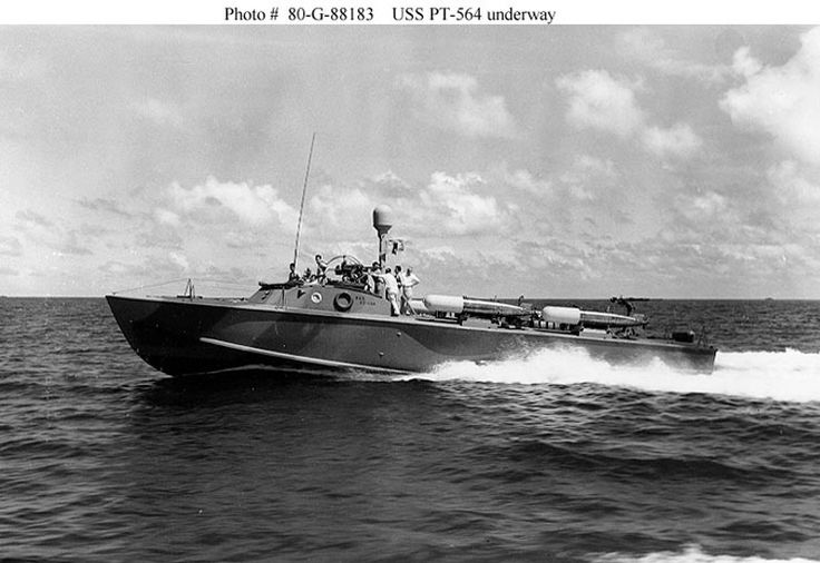 Picture of the Higgins PT Boat (Patrol Torpedo)