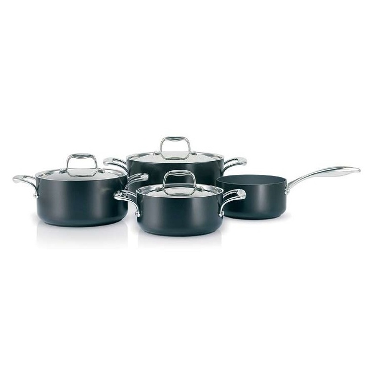Greenpan Stockholm full range of black non-stick cookware
