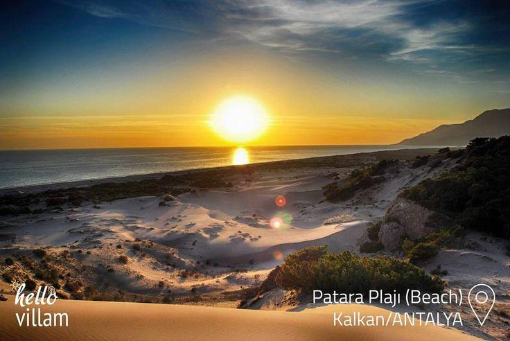 😊❤  Patara Plajı(Beach )😊❤   #sand #kum #plaj #beach #summer #tatil #yaztatili #holiday #manzara #landspace #nature #doğa #sea #deniz #sunshine #sun #sunset #güneş #günbatımı #picoftheday #photoftheday #kalkan #antalya