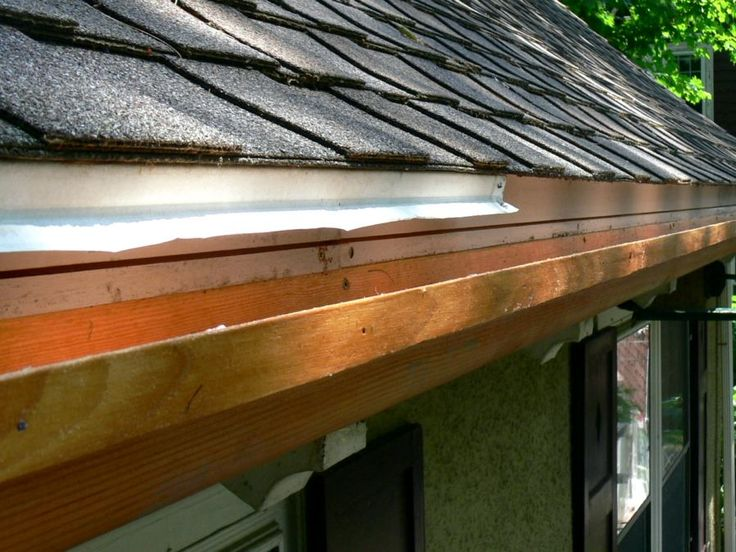 Wood Gutters - Most difficult to maintain and install, rarely found and not preferred