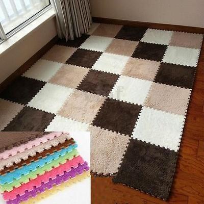 1PC Rug Mat DIY Puzzle Cute EVA Foam Mat Soft Mat Bedroom Carpet Plush Carpet