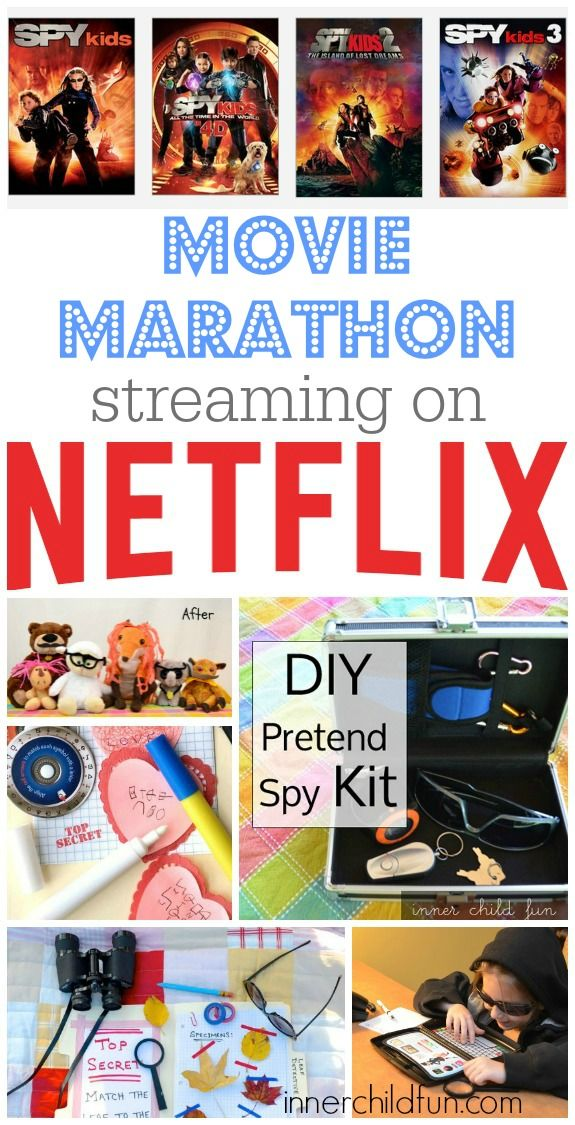 We thought it would be fun to have a family movie marathon featuring the Spy Kids movies and some stealthy spy crafts to go along with it! Details here. #streamteam