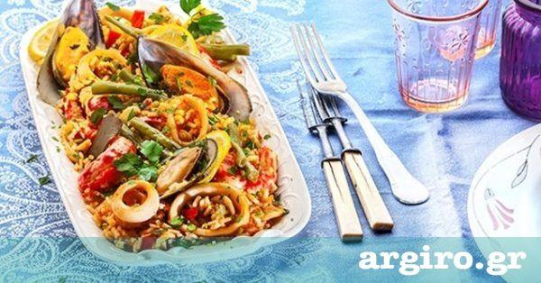 Παέγια (Paella) θαλασσινών από την Αργυρώ Μπαρμπαρίγου | Μια νηστίσιμη ισπανική συνταγή με καταπληκτικές γεύσεις που μυρίζει θάλασσα!
