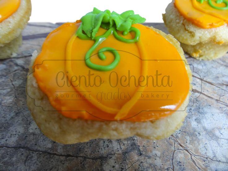 Calabacitas de Vanilla, rellenas de lemon curd