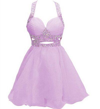 Charming Homecoming Dress,Tulle Homecoming Dresses,Beading Crystal Homecoming Dress,Short
