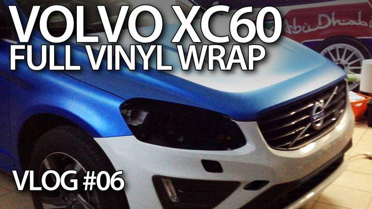 #Volvo #XC60 full vinyl wrap - mr-fix VLOG E06 #cars #tuning #carTuning #vinylWrap