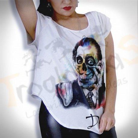 blusa nipon dali skull, te brinda personalidad y comodida