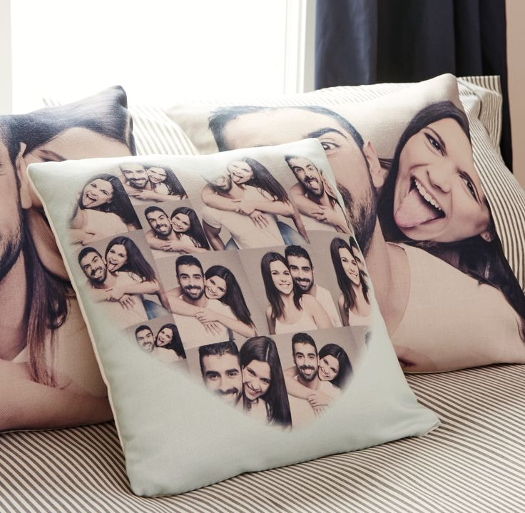 "Looking for a gift for Valentine's Day? Design your customized photo pillow. It's easy to create and every order has a ""just right"" guarantee. Save 64% +Free Shipping"