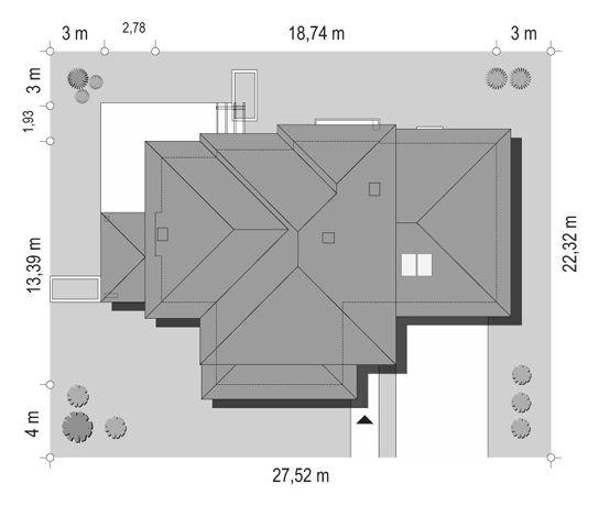projekt-domu-dom-z-widokiem-6-sytuacja