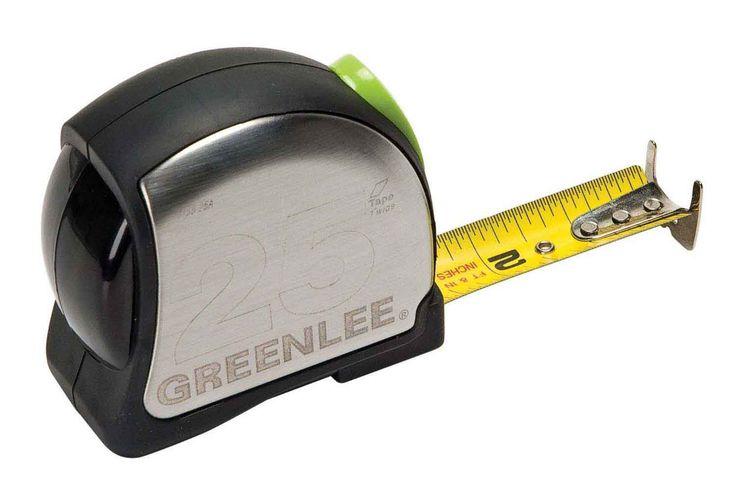 Greenlee Power Return Tape Measure, 25Ft.