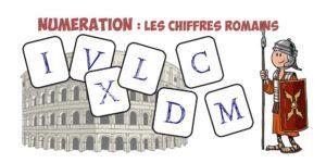 Numération CM: Les chiffres romains | Bout de Gomme
