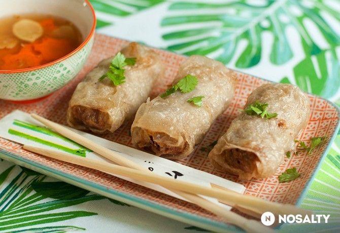 Vietnami húsos tavaszi tekercs