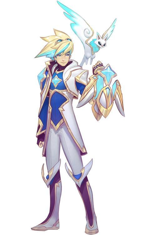 El diseño de las guardianas de las estrellas | League of Legends