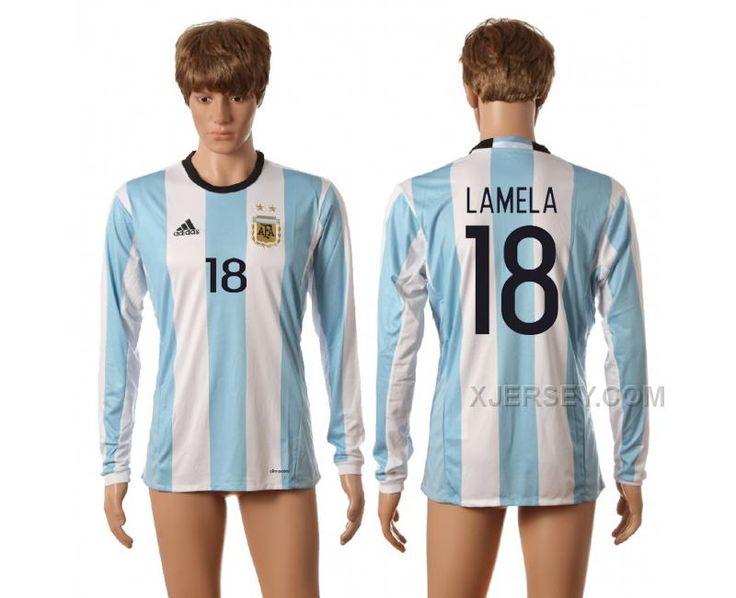 c090dfcf5a6 ... Thai Soccer Jersey httpwww.xjersey.comargentina-18-lamela- · Copa  America CentenarioSoccer JerseysArgentinaThailandMessiLong . Barcelona ...