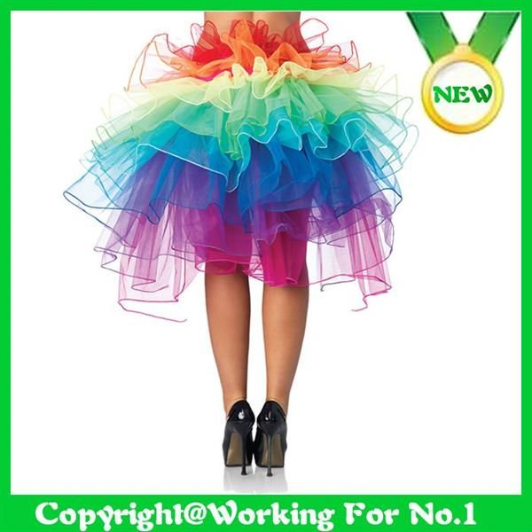 Взрослый костюм радуги