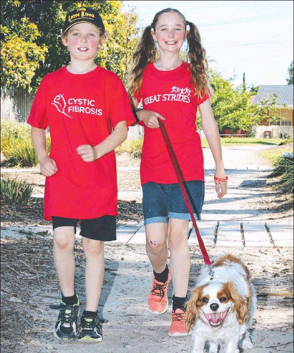 Siblings Izack & Zahra are looking forward to raising funds and awareness for cystic disease, a condition they battle everyday.