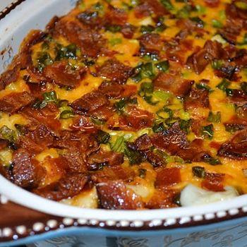 Loaded Potatoes: Potatoes Recipes, Sour Cream, Happy Homemaking, Make Ahead, Side Dishes, Cream Cheese, Makeahead, Loaded Mashed Potatoes, Ahead Loaded