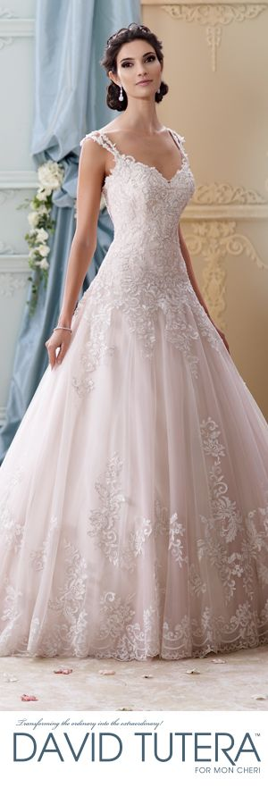 //Exclusive World Preview of David Tutera for Mon Cheri Fall 2015 Bridal Collection #wedding #dresses