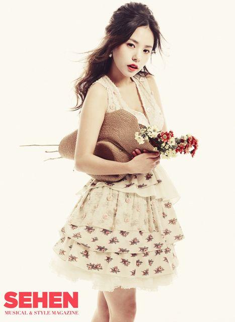 Min Hyo Rin - SEHEN Magazine January Issue '11