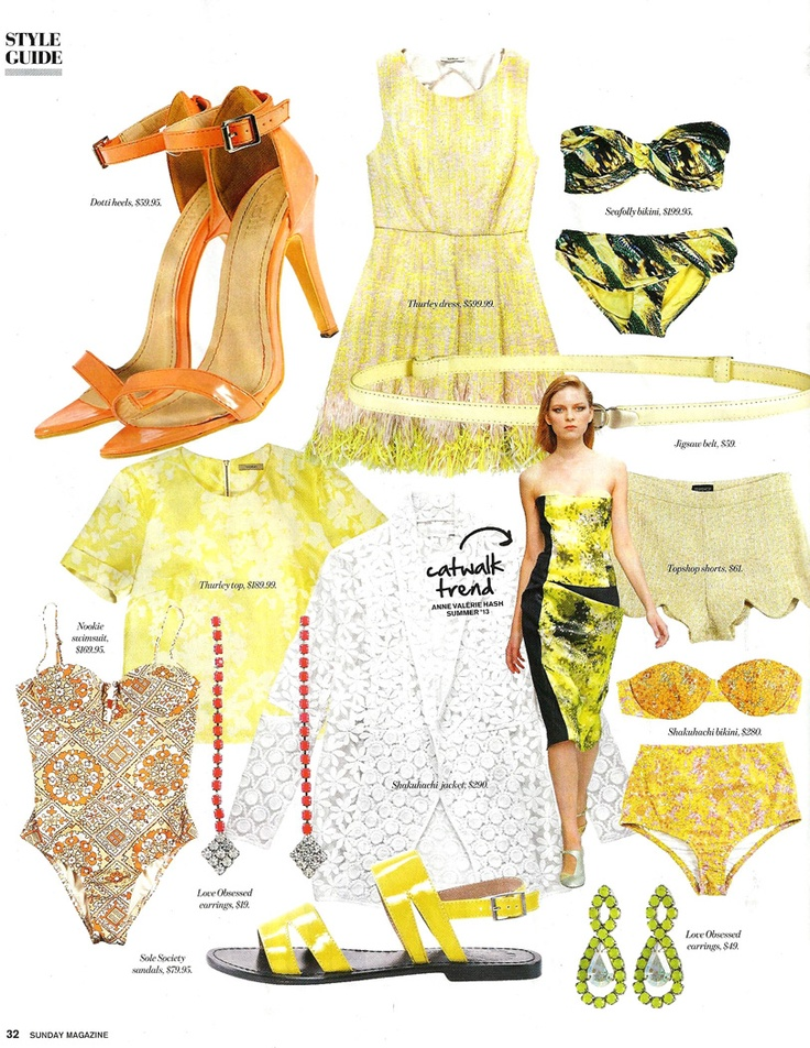 NOOKIE BEACH 'Marrakesh Fullpiece' in SUNDAY MAGAZINE