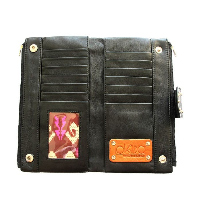 MAKENA LEATHER WALLET Lokoa Leather #festival #gypsy #boho #style
