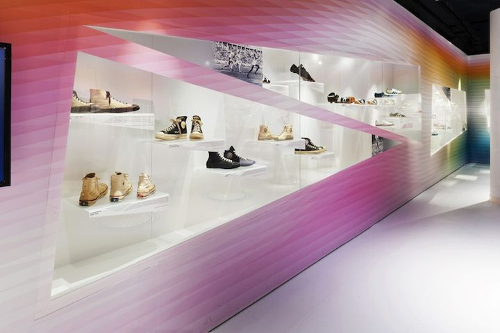 Out of the Box: The Rise of Sneaker Culture exhibition by Karim Rashid & Eventscape, Toronto