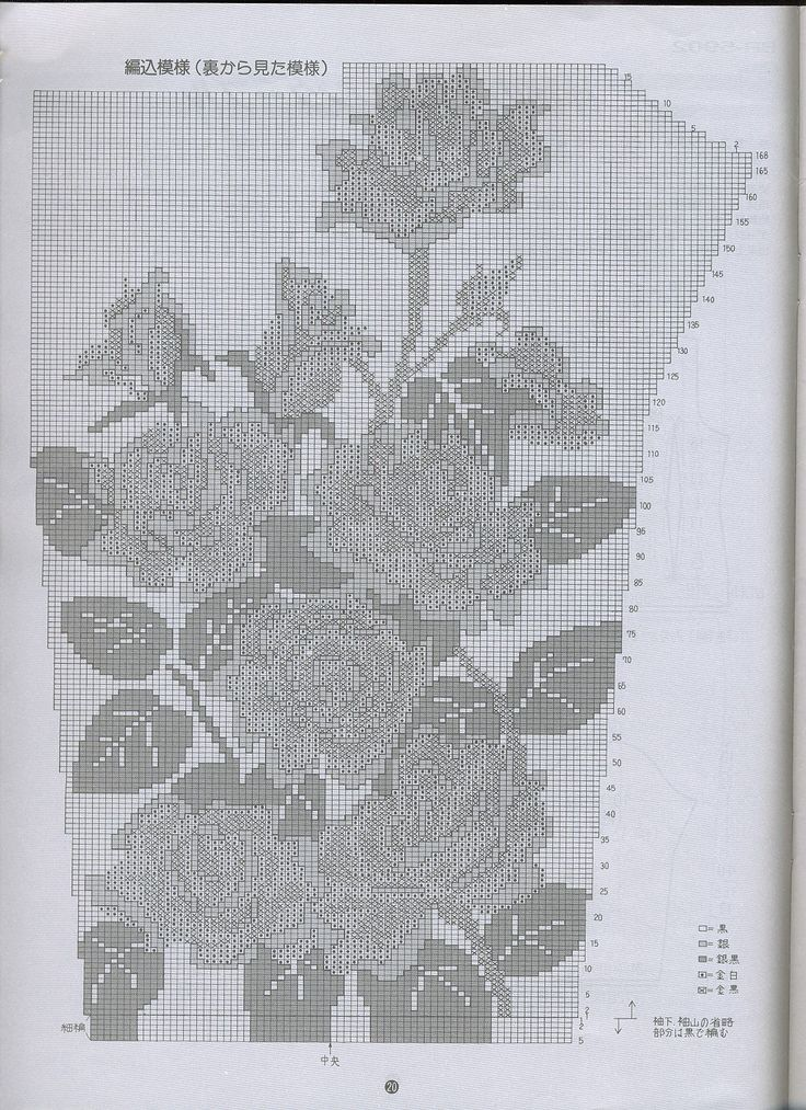Knitting Charts Flowers : Best stricken images on pinterest knitting patterns