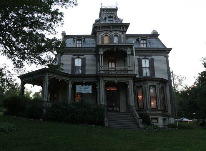Haunted roadtrip through Missouri (Garth Woodside Mansion, Hannibal)