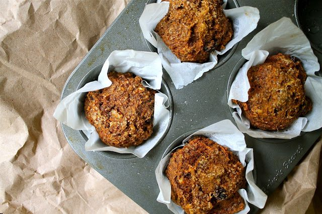 Carrot and Flaxseed Muffins
