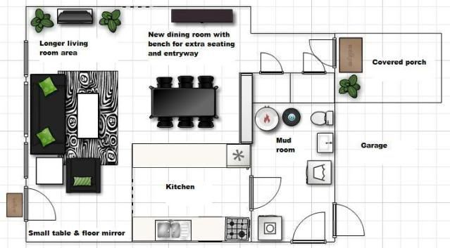 Floor Layout L Shapped Rooms Pinterest