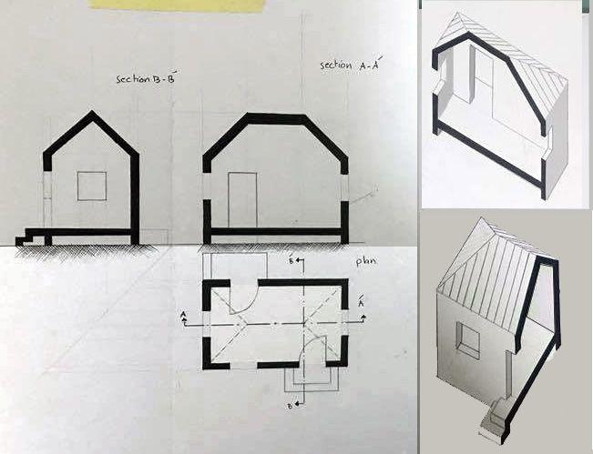 Enas Alassiالرسم والاظهار المعماري (Arch. Drawing & Representation )