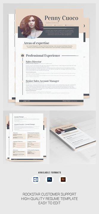 15 Easy to edit Resume Templates -    creativemarket - edit resume