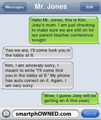 teacher and stundent sex text messages