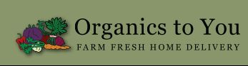 Organics to You delivers organic food from local farms! I'm pinning it so I remember to come back and sign up.
