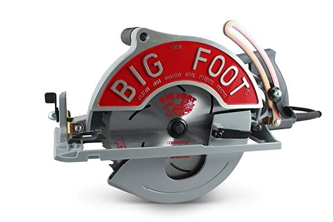 Big Foot Tools Bf Ug 10 1 4 Inch Wormdrive Magnesium Circular Saw W Skil Motor In 2020 Worm Drive Circular Saw Circular Saw Circular Saw Reviews